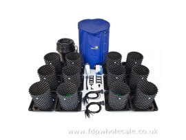 Hydroponics Air-Pot 12 Pot RTA Dripper System 15ltr