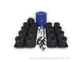 Hydroponics Air-Pot 16 Pot RTA Dripper System 15ltr