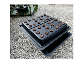 Hydroponics Amazon Single 32 Pot Large Hole Basic Kit