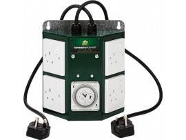 Hydroponics Greenpower Professional Contactor Timer 4 Way