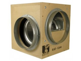 Hydroponics Acoustic Gorilla Box Fan 1500m3/h