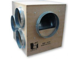 Hydroponics Acoustic Gorilla Box Fan 4250m3/h