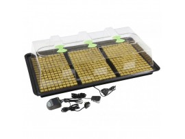 Hydroponics X-Steam Heat Propagator Large- Variable inc. Thermostat